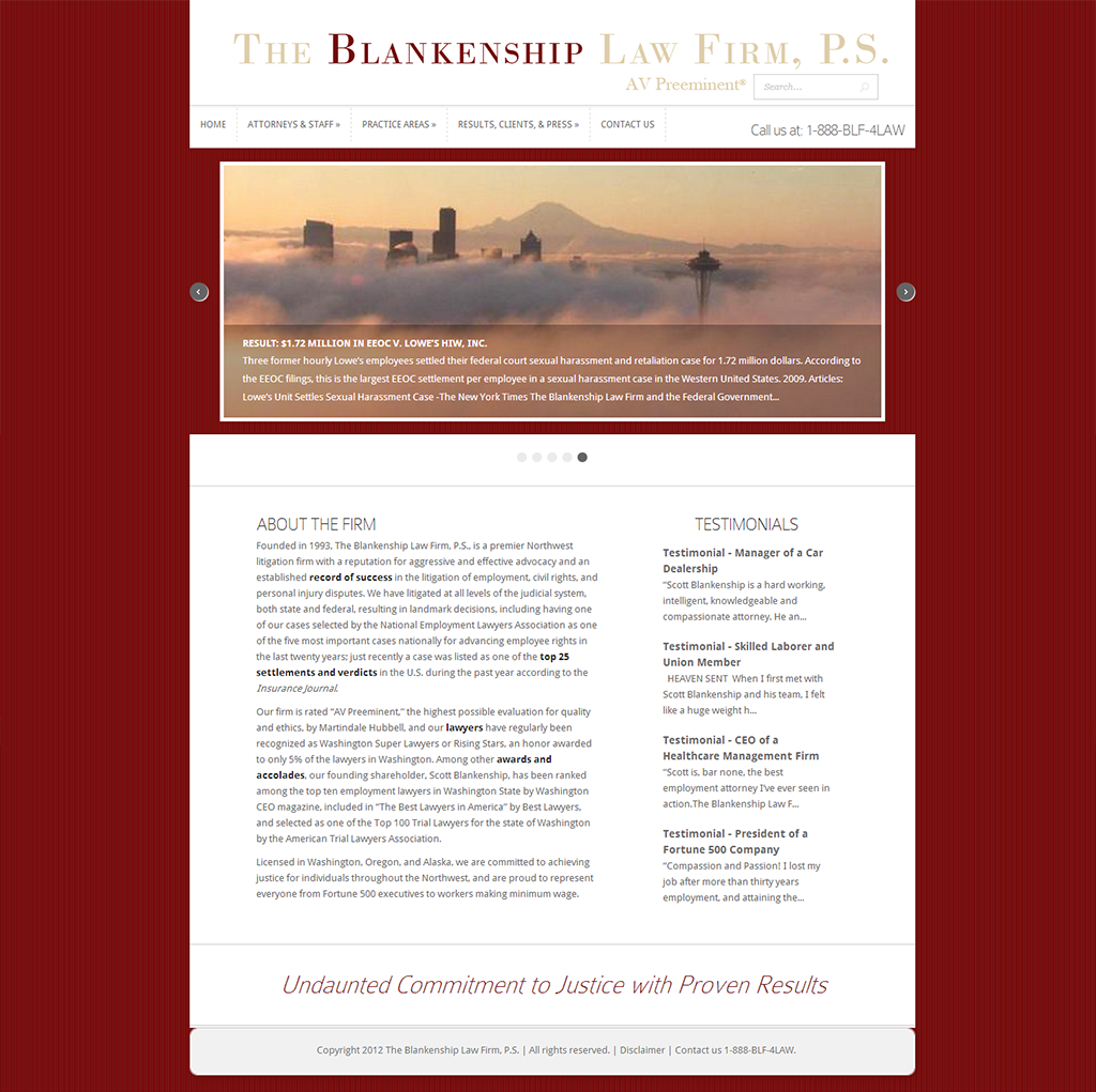 The Blankenship Law Firm, P.S.